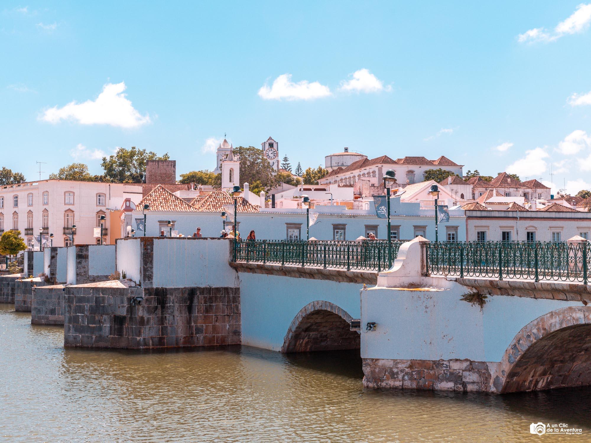 Puente romano de Tavira que ver en el Algarve