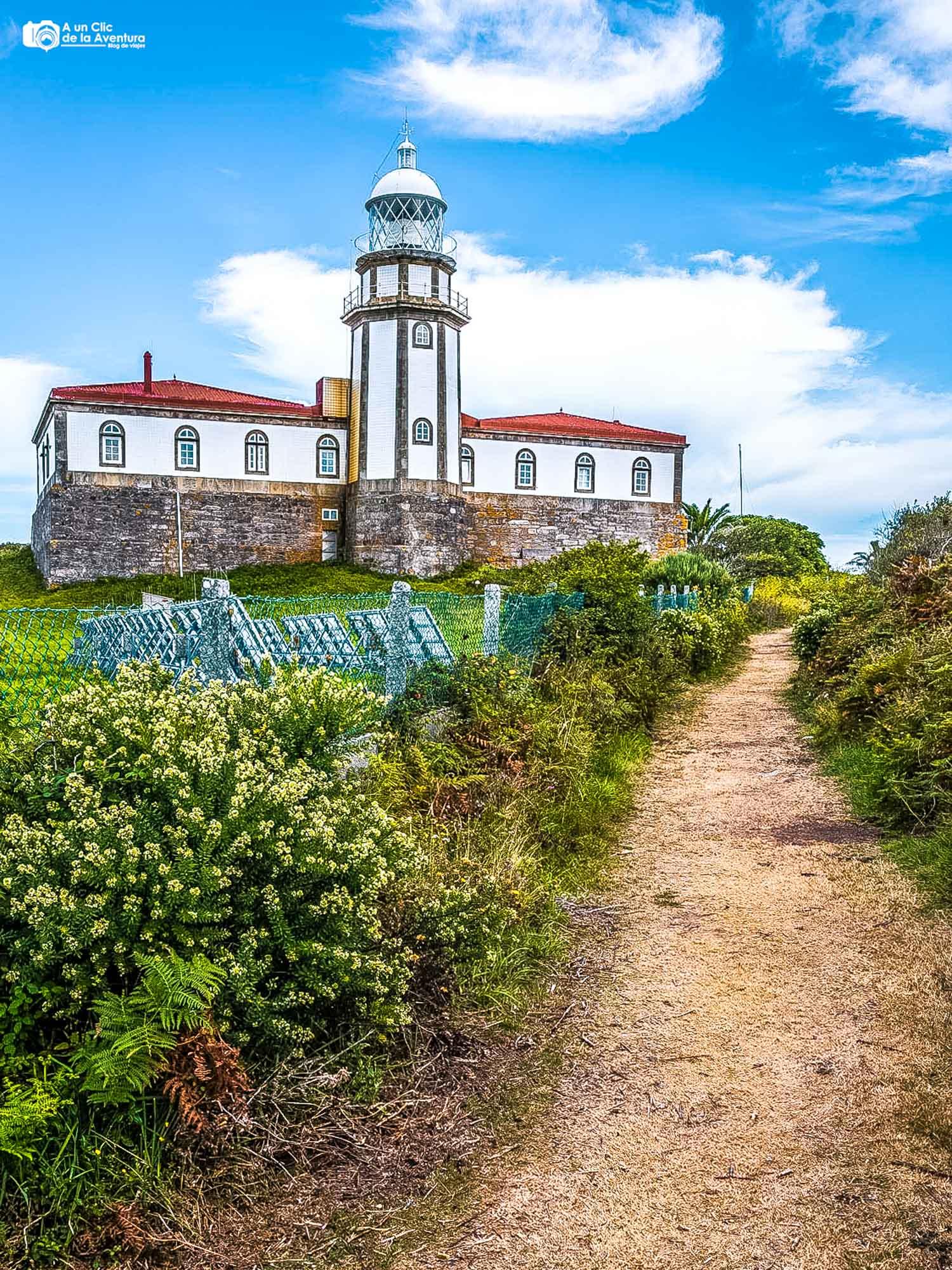 Faro de la Isla de Ons