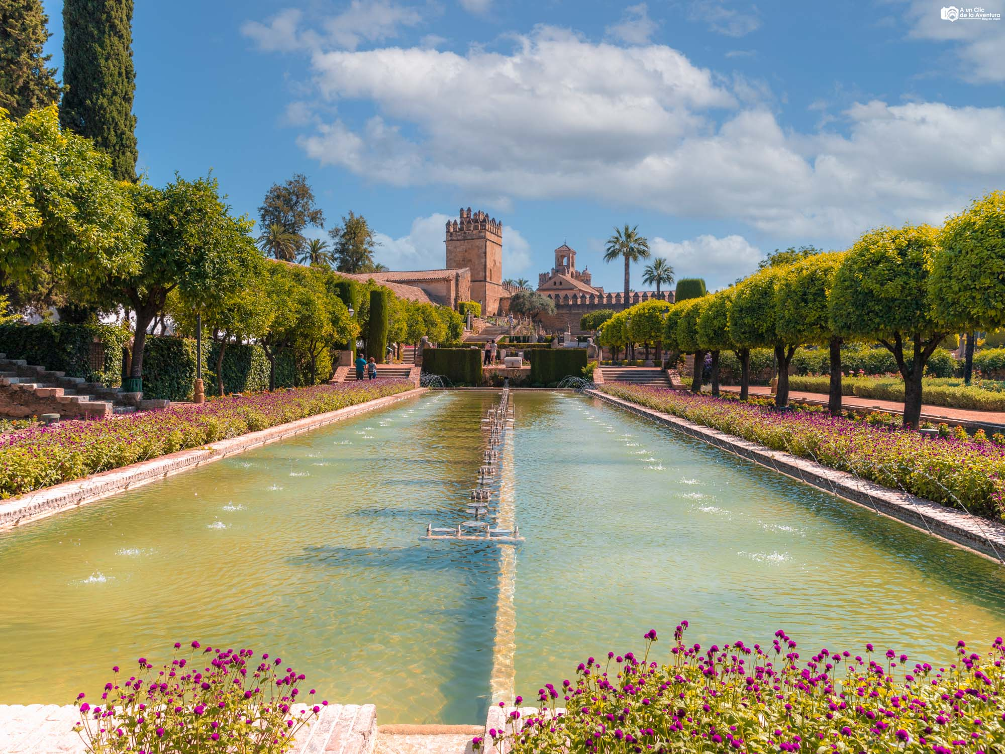 Jardines del Alcázar de los Reyes Cristianos, Córdoba