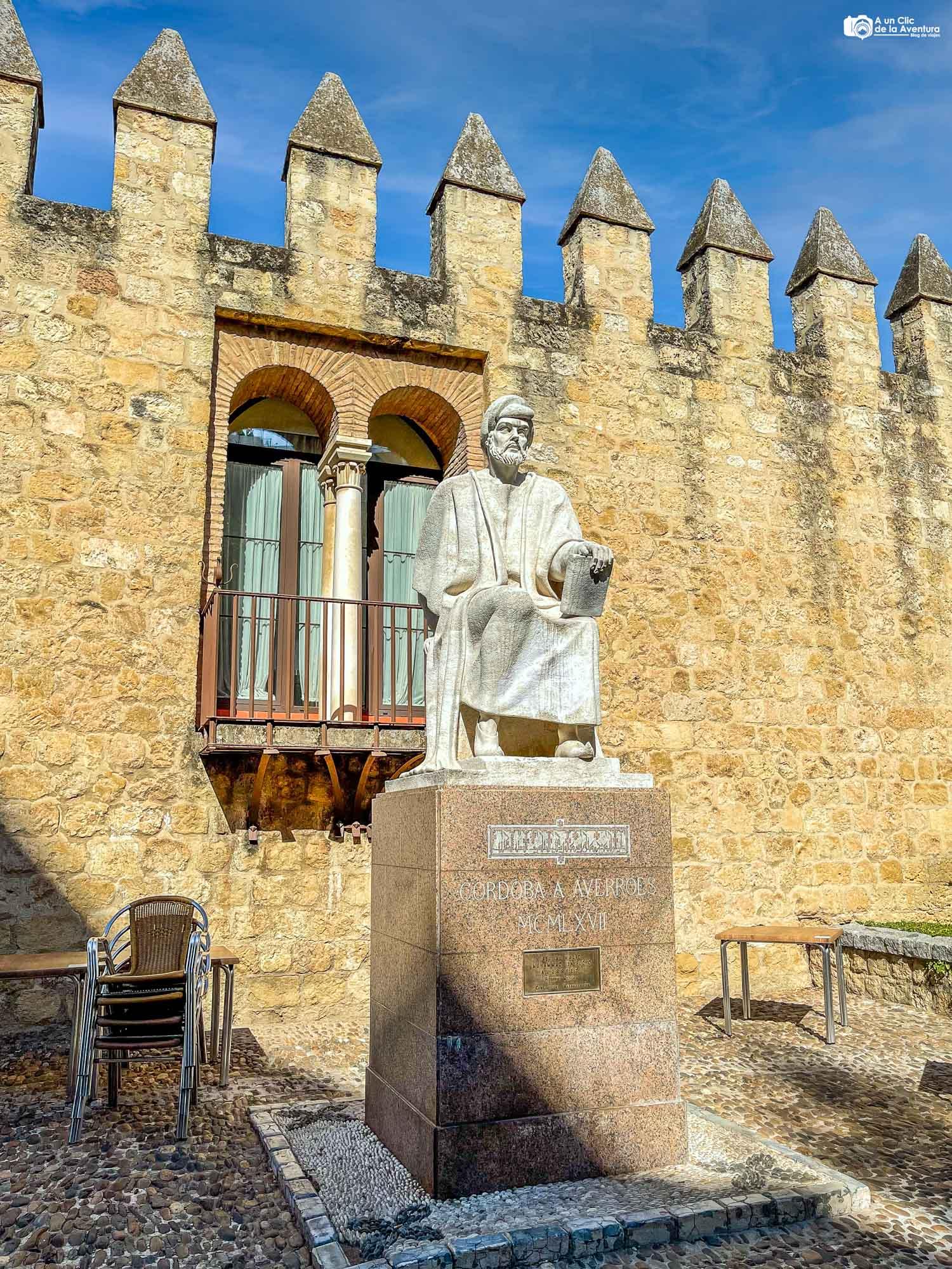 Estatua de Averroes, Córdoba
