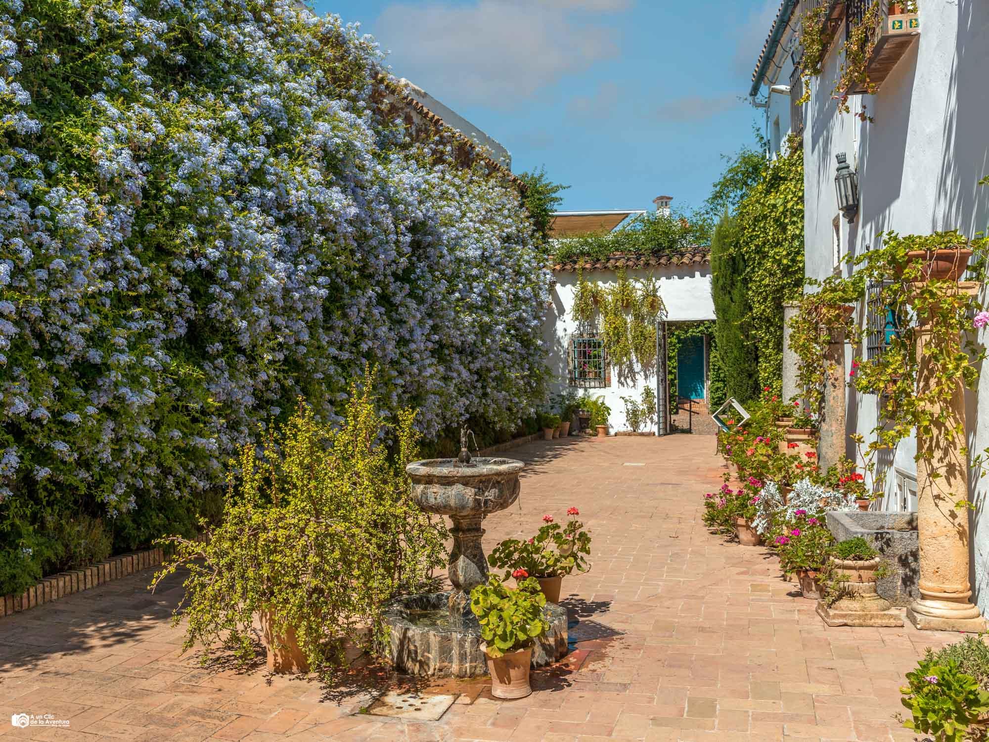 Patio de los Jardineros del Palacio de Viana