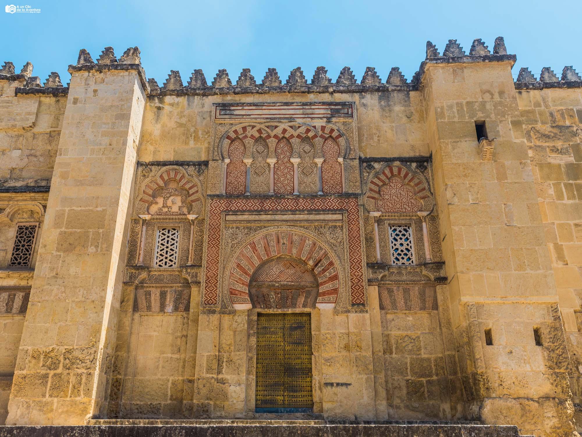 Puerta de San Ildefonso de la Mezquita de Córdoba